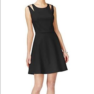 NWT Bar III Fit and Flare Black Dress Size XXL